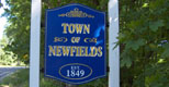 Newfields Town Sign